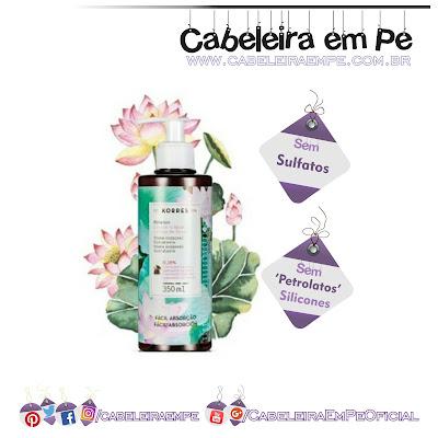 Creme Corporal Extra Hidratante Lírios D'água - Korres (Sem sulfato, sem petrolato e sem silicones)