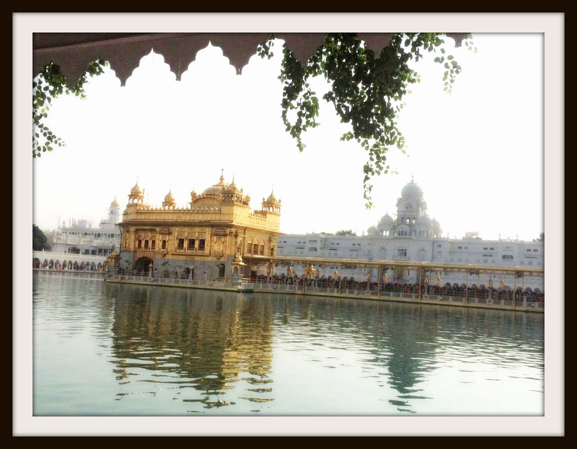 Sri Harminder Sahib or Golden temple, in Amritsar is the most important religious place of the Sikhs. People pay tribute to this temple (Gurudwara) in large number at the time of Baisakhi.