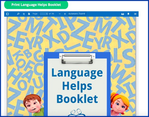 Language helps for homeschool writing curriculum