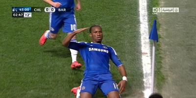 UEFA-4 : Chelsea 1 vs 0 Barcelona 18-04-2012