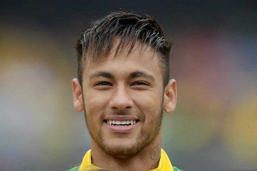 Neymar  Hairstyle  2014 World Cup Fc Barcelona Photo