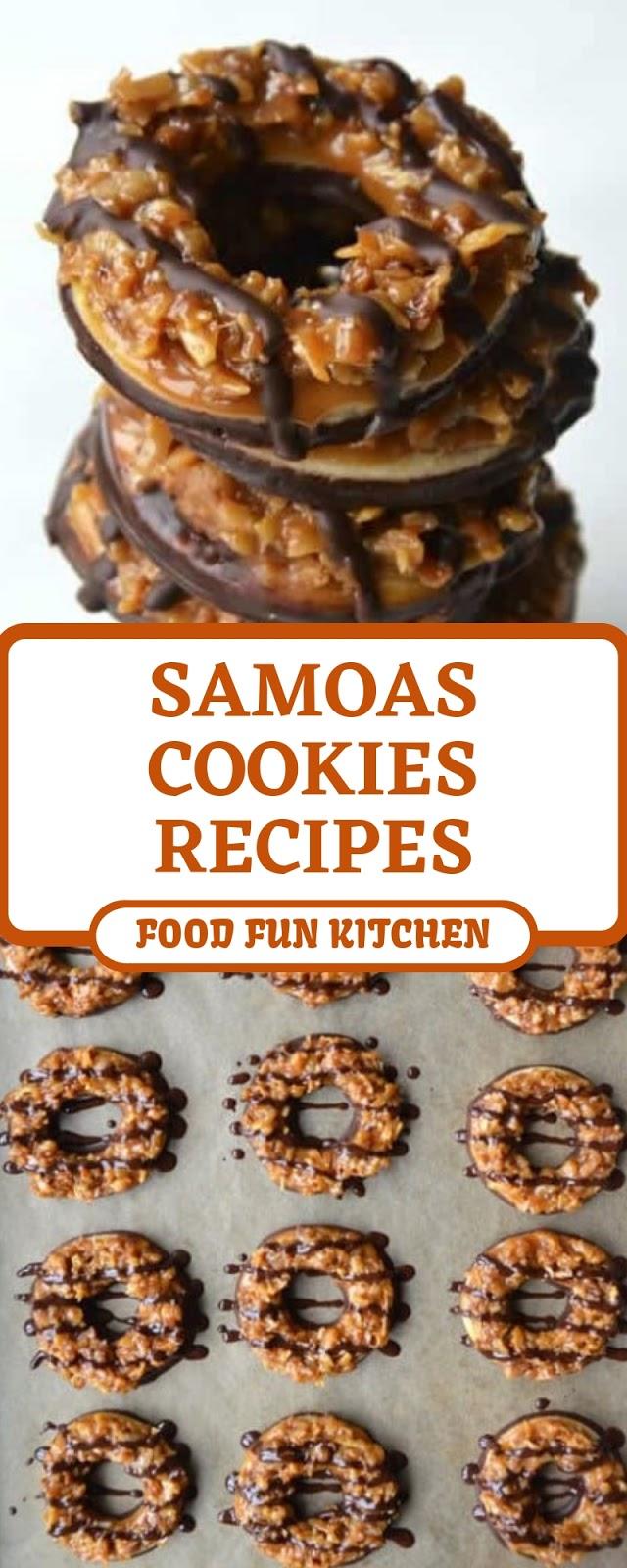 SAMOAS COOKIES RECIPES