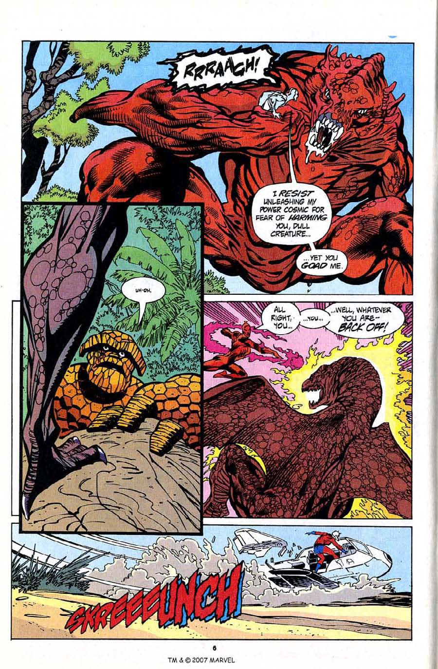 Read online Silver Surfer (1987) comic -  Issue #94 - 8