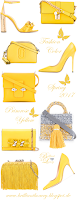 Pantone Fashion Color Primrose Yellow #accessories #brilliantluxury