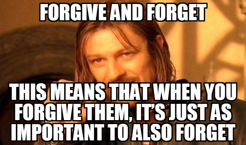 Forgive A Cheater