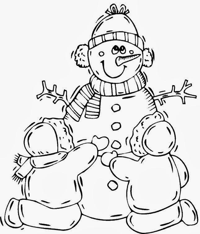 malvorlagen gratis  winter malvorlagen