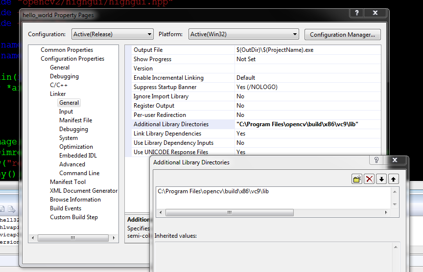 TechnoLabsz: Setting OpenCV 2 3 1 on VS2008 and 2010