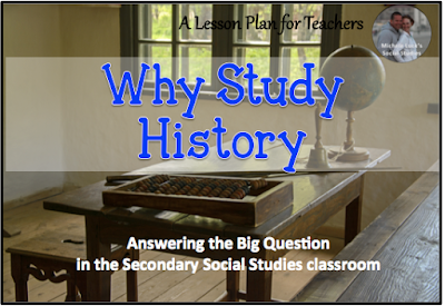 Tips for answering the big question about why we teach Social Studies in the secondary classroom