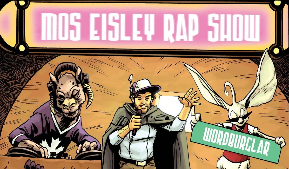 """Star Wars Themed """"The Mos Eisley Rap Show"""" EP Coming May 4 From Wordburglar"""