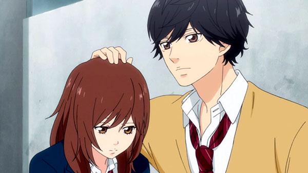 Ao Haru Ride - Anime romance terbaik lelaki tinggi perempuan pendek