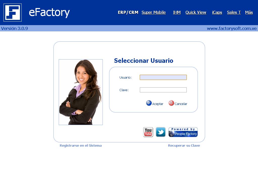 eFactory Contabilidad Web en la Nube - Software de Contabilidad para el Cloud Computing