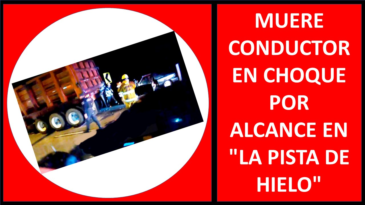 MUERE CONDUCTOR