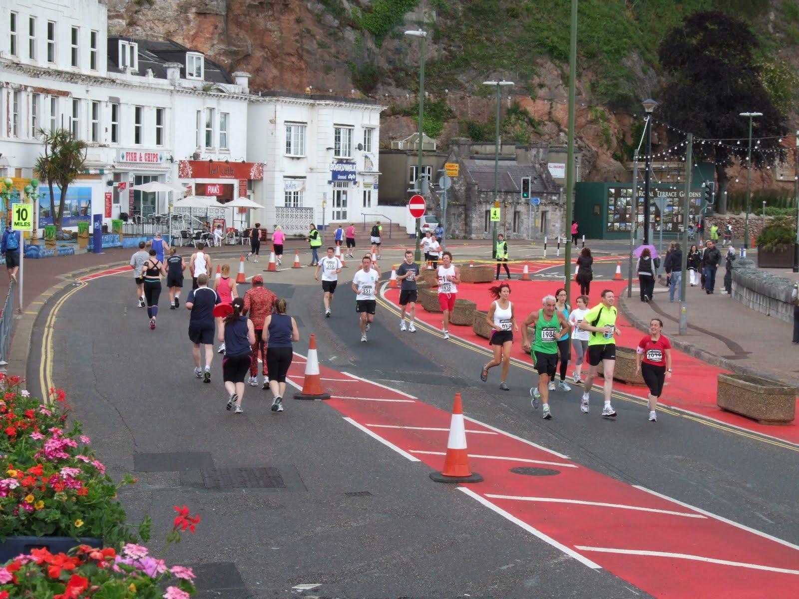 Busdriving Torbay Half Marathon