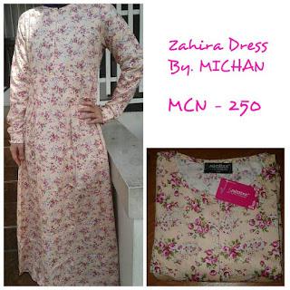 Gamis Michan Hijab Zahira Dress MCN 250