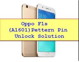 Oppo F1s Pattern Unlock File
