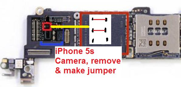 How to fix iPhone 5s Camera not working or dark issue