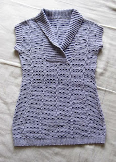 Interweave Crochet Summer sweater