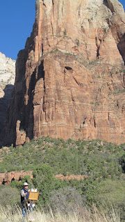 Plein air painting at Zion National Park with Michael Chesley Johnson