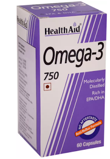 HealthAid Omega-3 750 Capsule