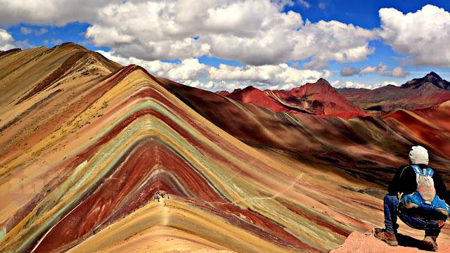 Vista de la Montaña de los 7 Colores
