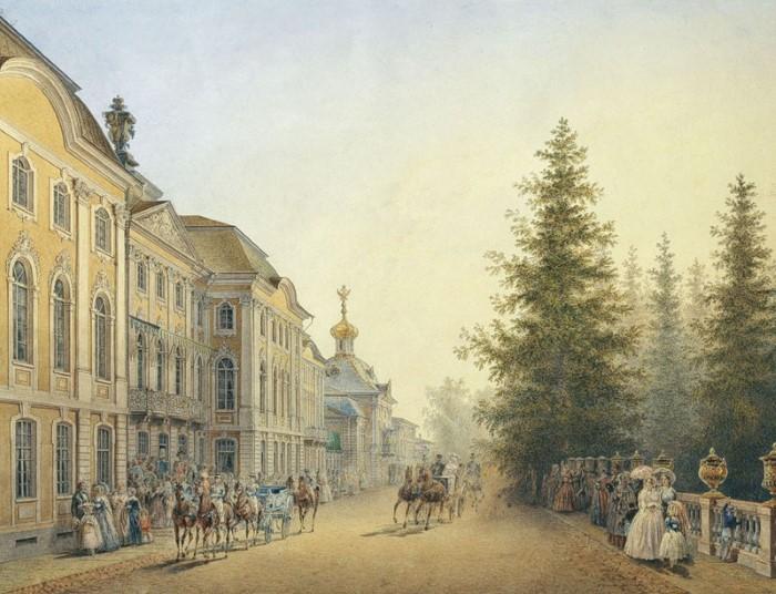 Василий Садовников как зеркало жизни имперской столицы