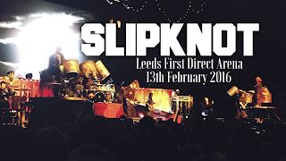 slipknot, gig, leeds