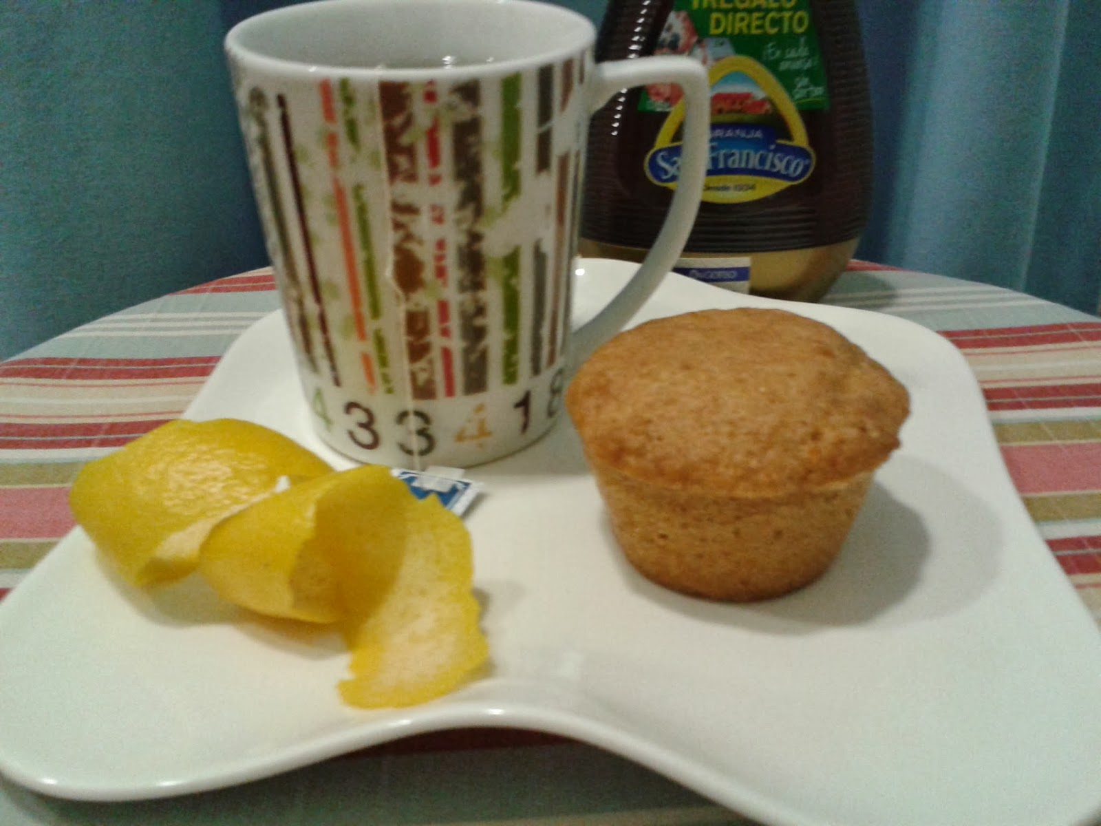 muffin de queso fresco y limon