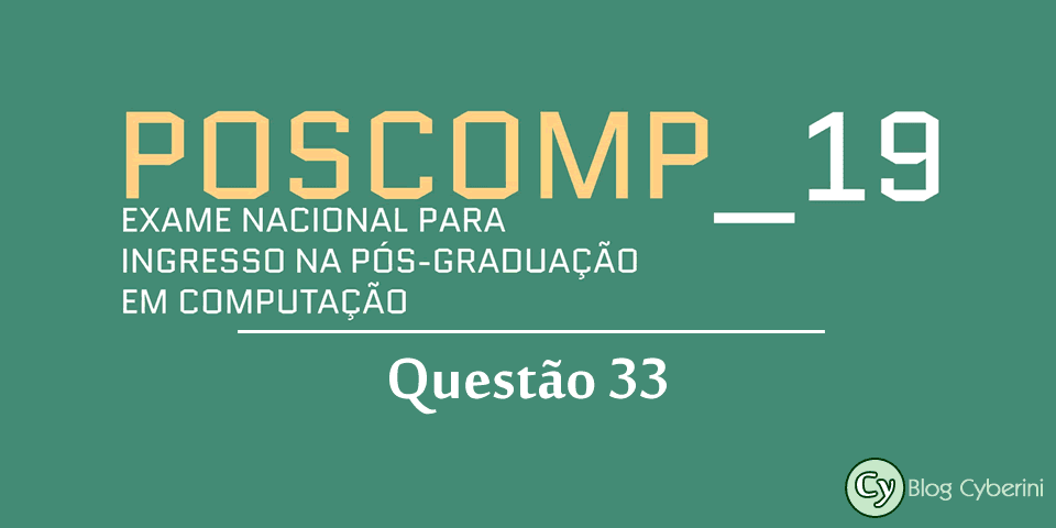 Logotipo do POSCOMP 2019