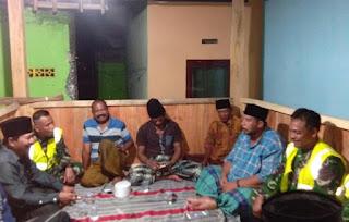 Wujud Sinergitas, TNI-Polri - Warga Kedungjajang Gelar Patroli Bersama