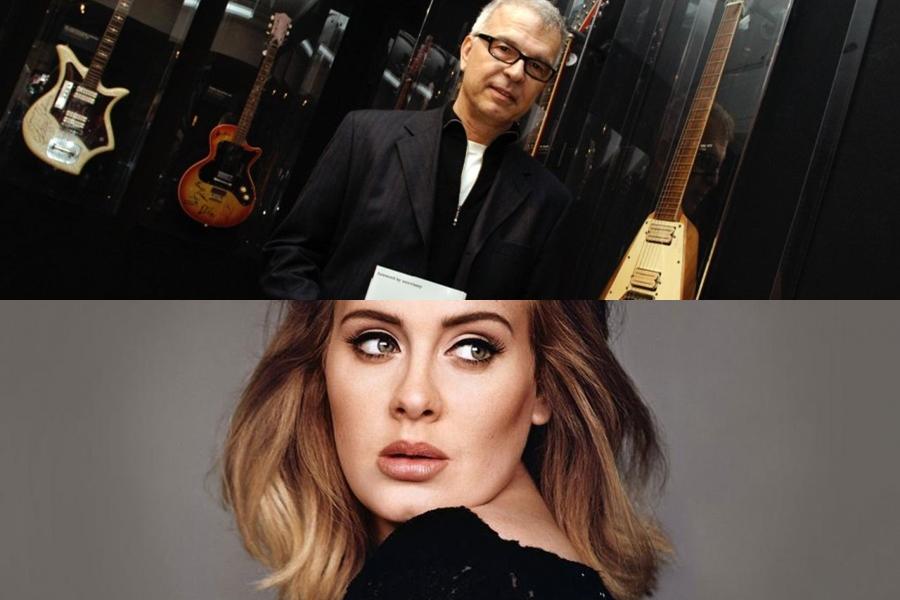 """Tony Visconti le pide disculpas a Adele: """"Tiene una gran voz"""""""