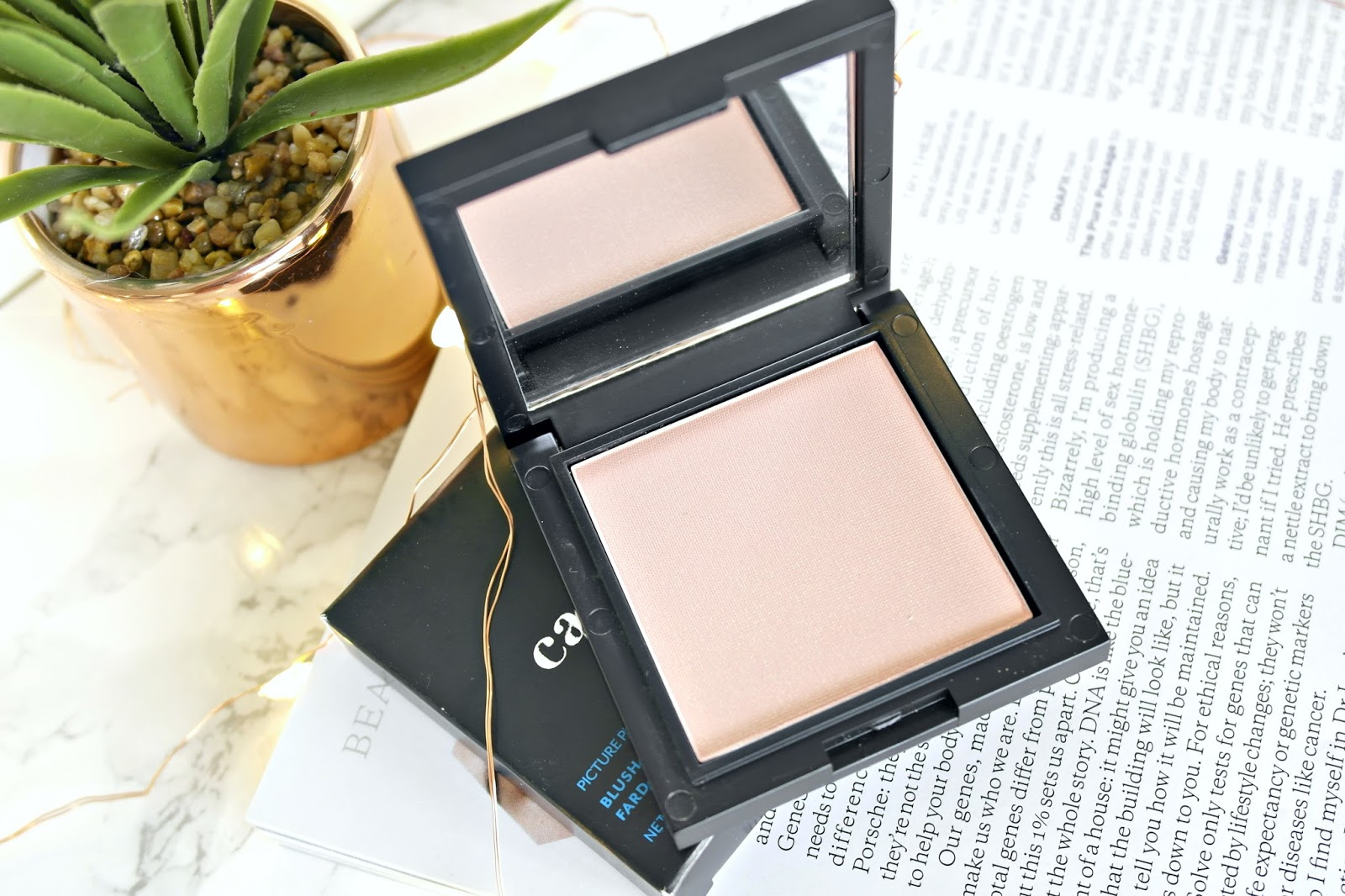 Cargo Cosmettics, HD Blush/ highlighter, pink shimmer, review