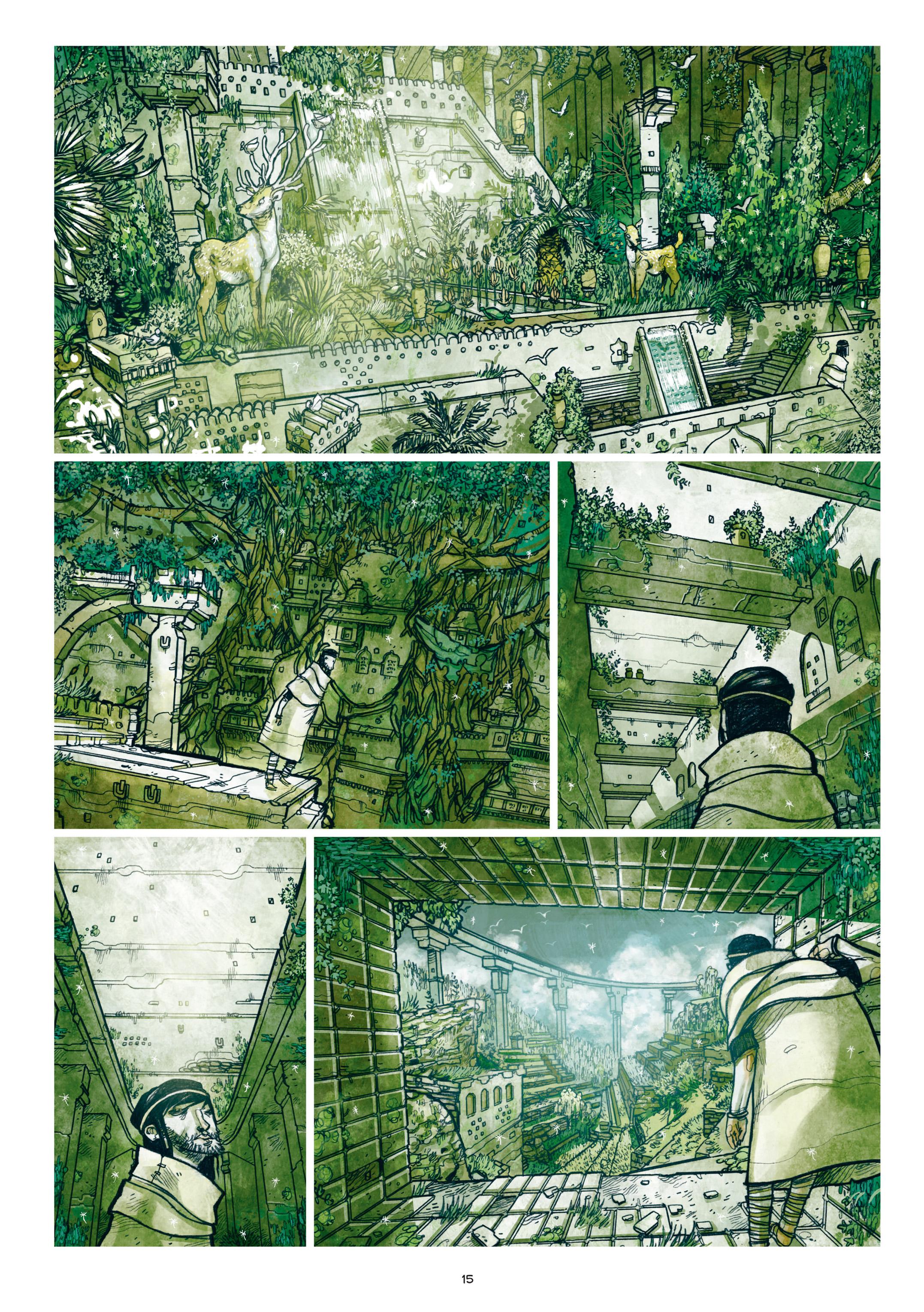 Read online Adrastée comic -  Issue #1 - 16