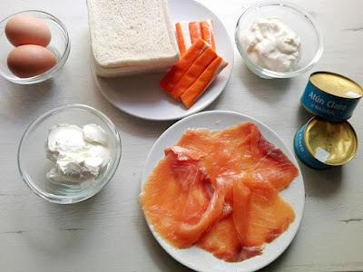 ingredientes de pastel de salmón