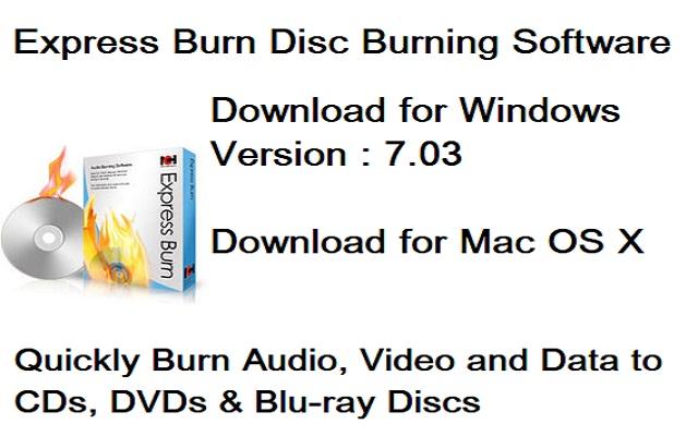 تحميل برنامج حرق ونسخ الأسطوانات للويندوز Express Burn آخر إصدار