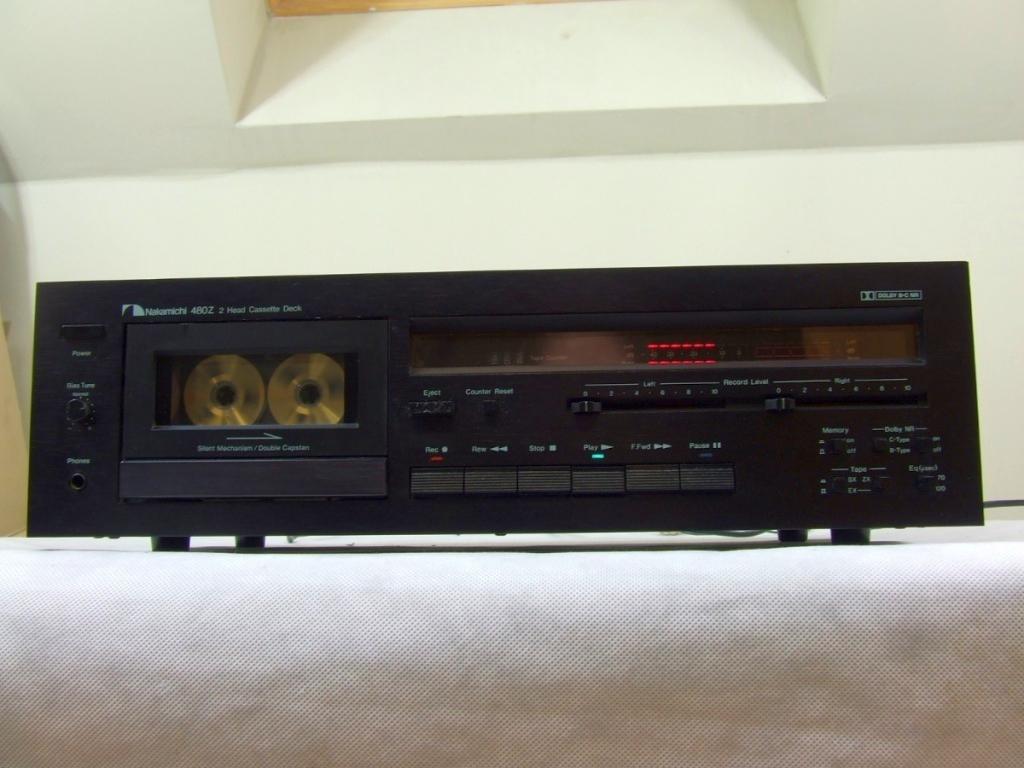 Nakamichi 480 Z Stereo Cassette Deck Audiobaza