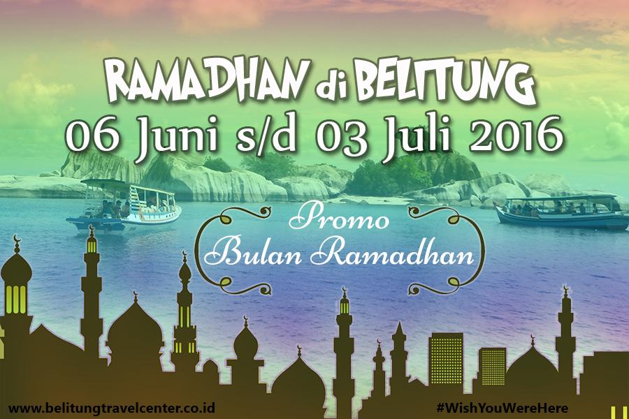 Paket Ramadhan Belitung 2016