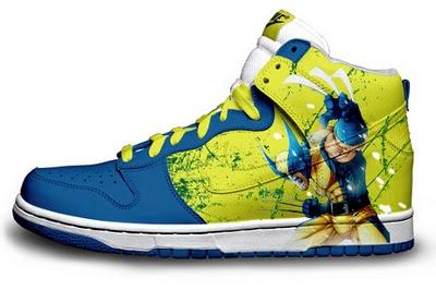 2eef0b01df0b3 X-Men Wolverine Nikes Shoes | Nike Sb Dunk Skate Shoes