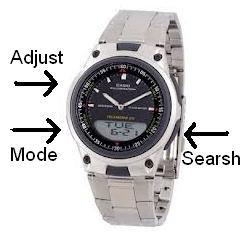 785f032dc70 Normalmente as pessoas tem uma certa dificuldade em acertar o horário nos  ponteiros nesse tipo de relógio