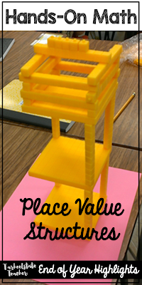 If you're on the lookout for great hands-on math activities for your upper elementary students, you're going to love the ideas at this blog post. Your 3rd, 4th, 5th, & 6th grade classroom or homeschool students are going to love the geometry, measurement, place value, area & perimeter, & games found here! You'll even get ideas for math concept sorts. Click through for all the details on how this can improve your math, STEAM, or project-based learning lessons. {third, fourth, fifth, sixth grader}