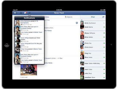 Facebook for iPad app