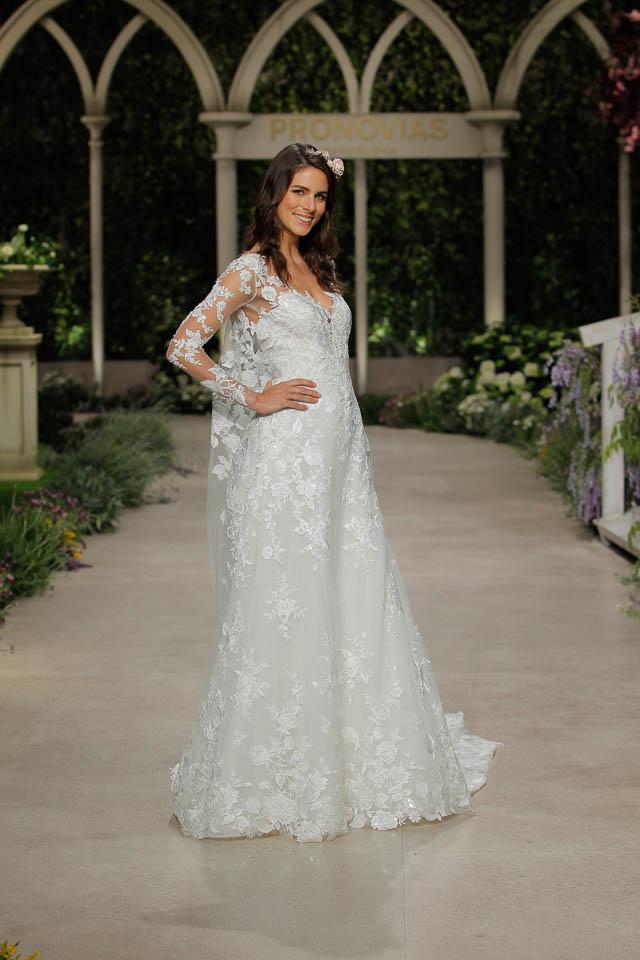 Pronovias coleccion 2019 Barcelona Bridal Week