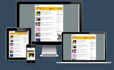 Minimal Blogger Template Responsive Gratis | SEOBlog.id