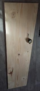 planche bois etagère pin brut