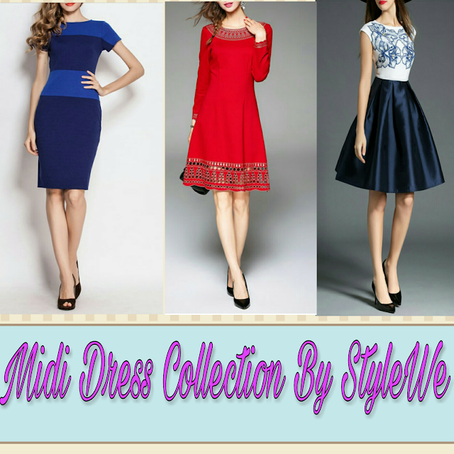 Midi Dress Collection By StyleWe.Com