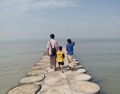 Wisata Pantai Basmalah Dekat Jembatan Suramadu
