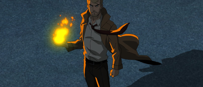 Constantine Animated Series Darker Than TV Show.