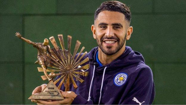 Riyad Mahrez is BBC African Footballer of the Year 2016