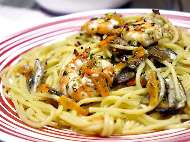 spaghettata estiva pesce