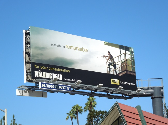 Walking Dead season 3 consideration billboard