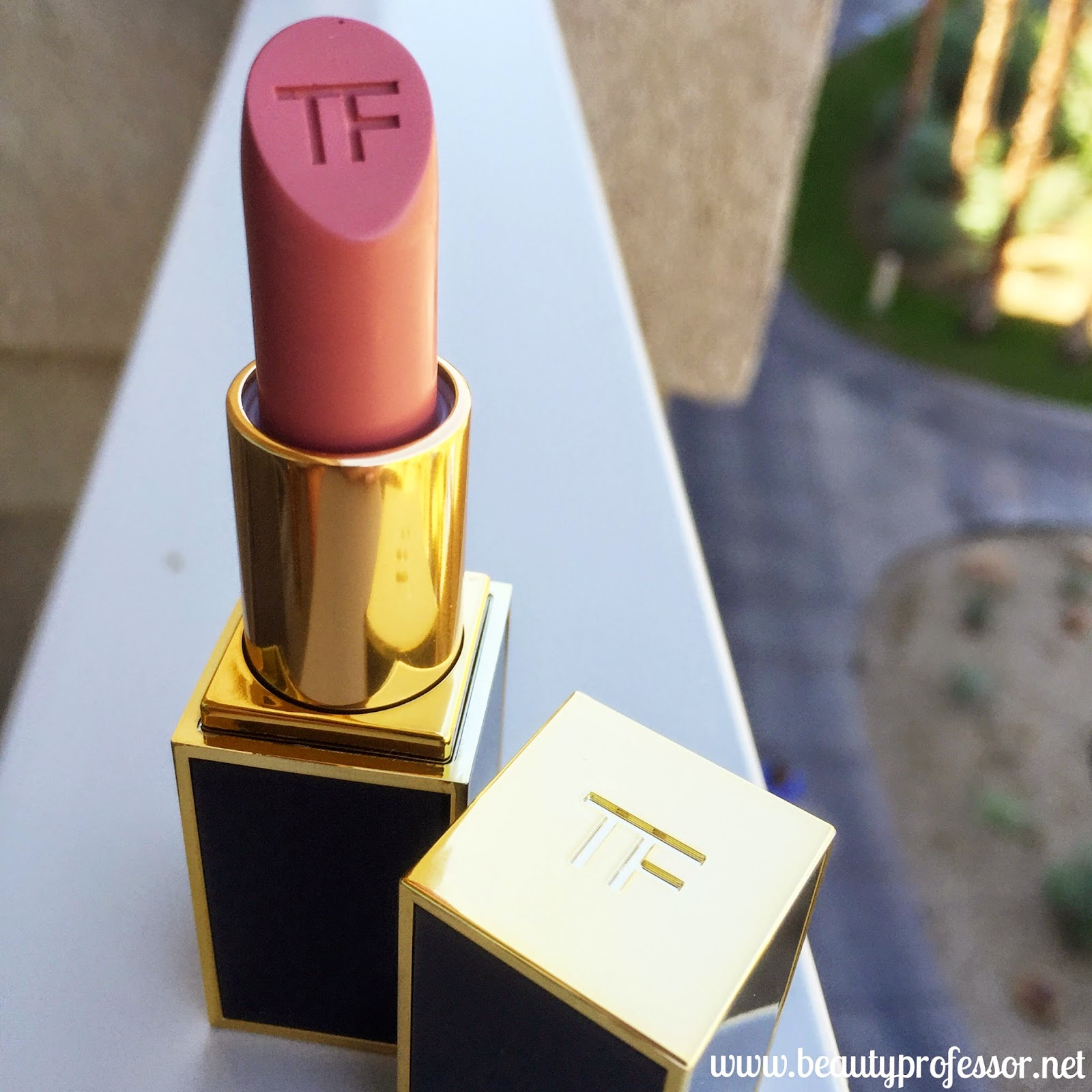 tom ford matte lip color first time swatch
